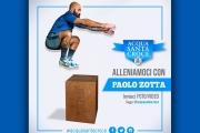 Acqua Santa Croce si allena con il personal trainer Paolo Zotta
